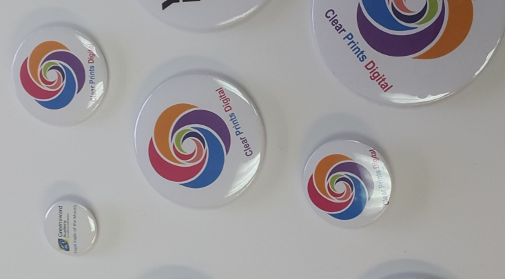 Clearprintsdigital,Badges, print badges,customised badges