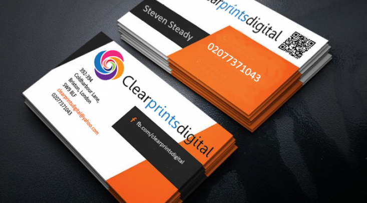 Printing services in brixton clearprintsdigital professional business cards reheart Choice Image