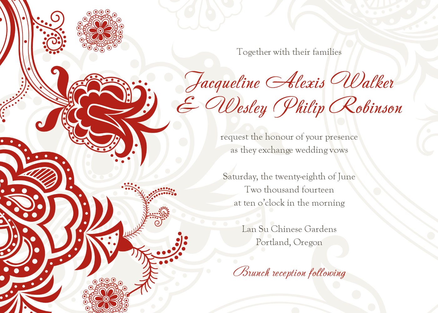 Wedding Invitations - Clearprintsdigital